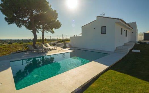 Villa in Ibiza stijl